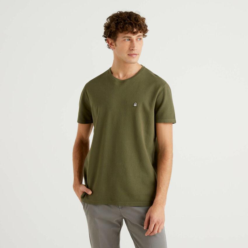 Camiseta de 100 % algodón piqué