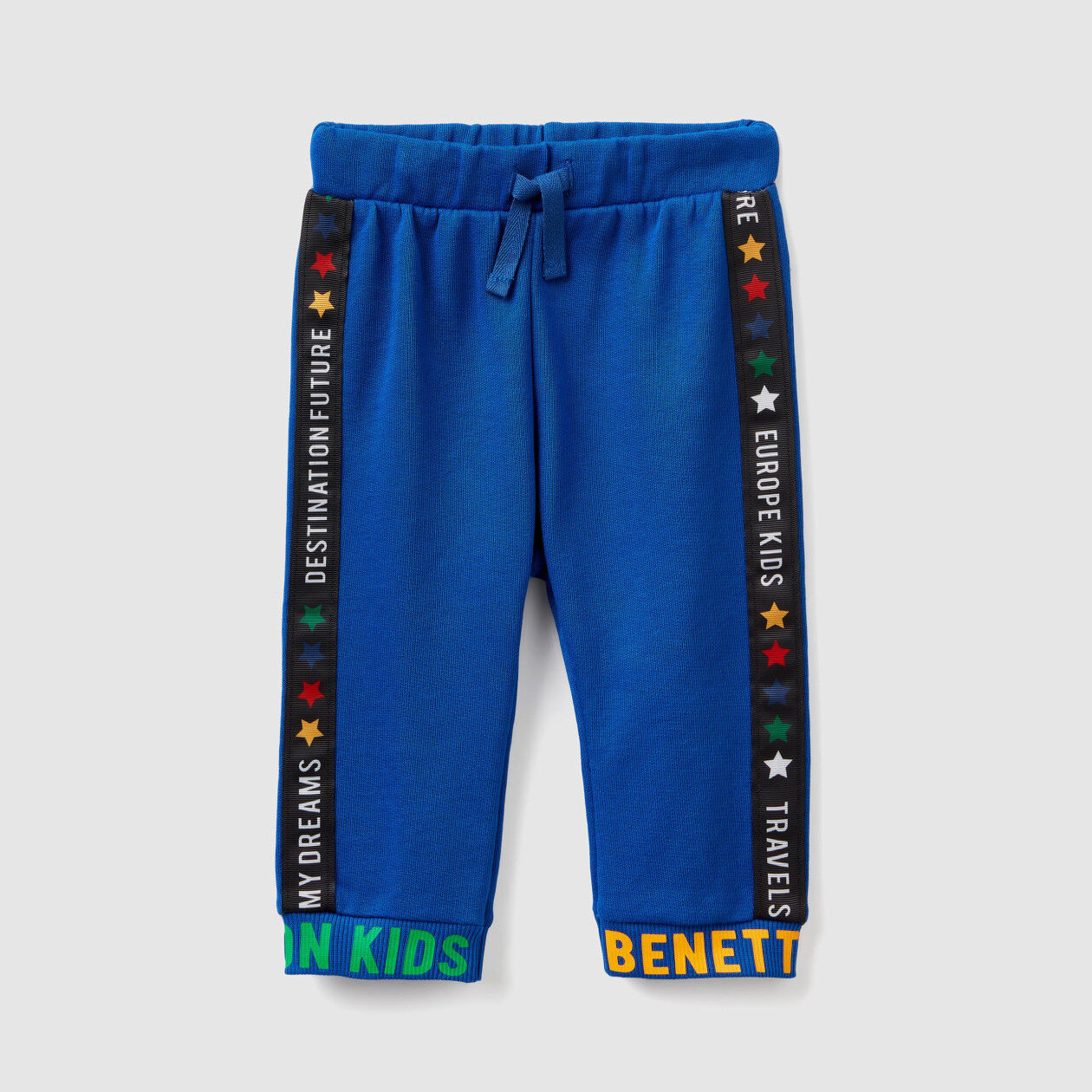Pantalones de felpa con texto