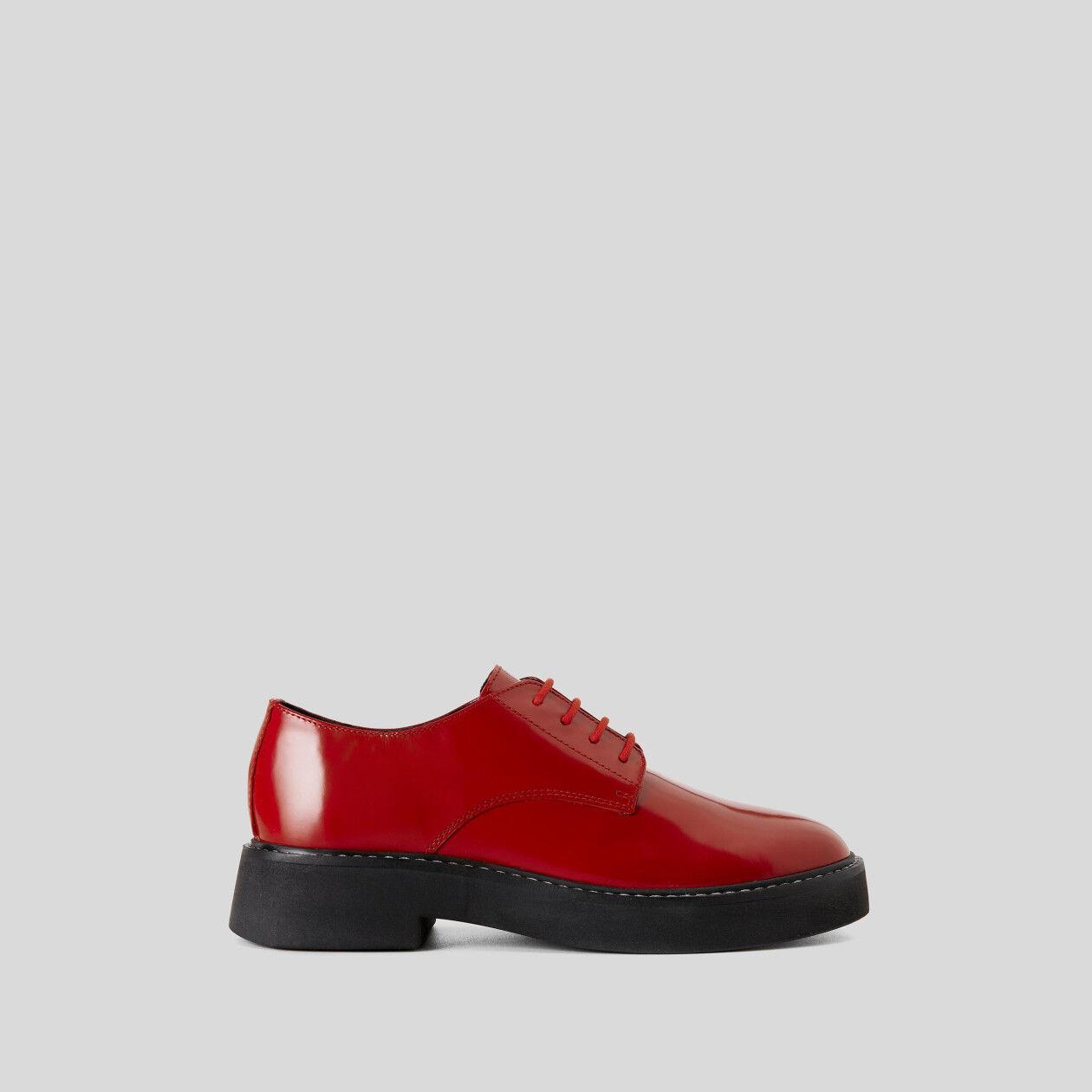 Zapatos derby de piel