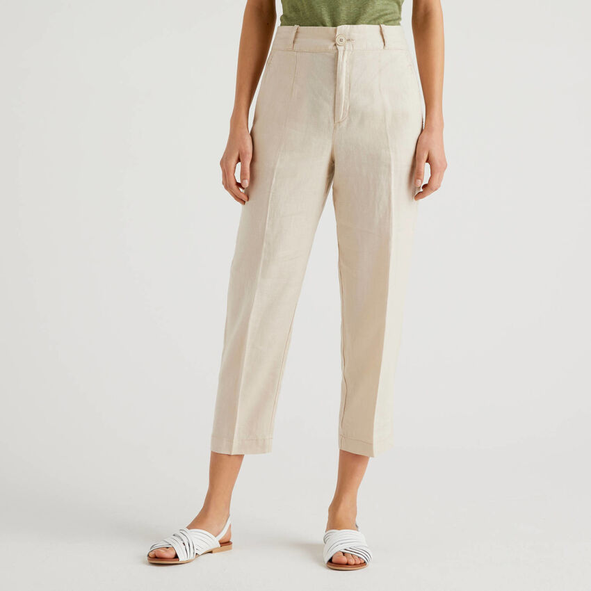 Pantalón de puro lino