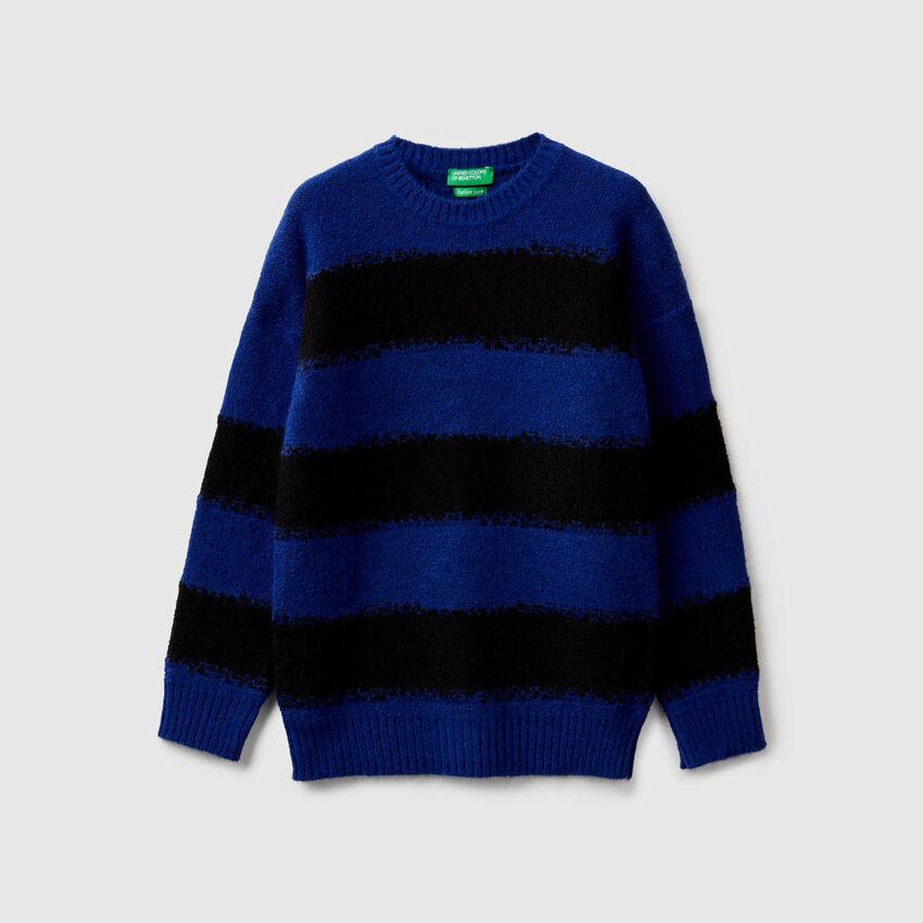 Jersey bicolor de rayas
