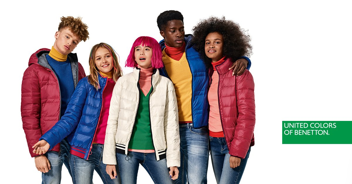 United colors of benetton web oficial tienda online for Benetton we are colors