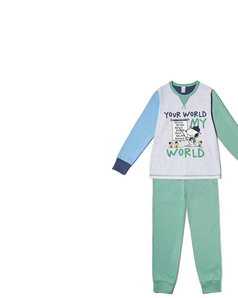 Pijama de ni o ropa interior de noche undercolors benetton for Ropa interior benetton